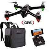Holiday Special! Contixo F18 Advanced GPS Assisted RC Quadcopter 1080P HD Live FPV Wifi Video Camera Drone Smart RTH Hovering Brushless Motors (Include Carrying Back Pack $50 Value) - Best Gift Idea