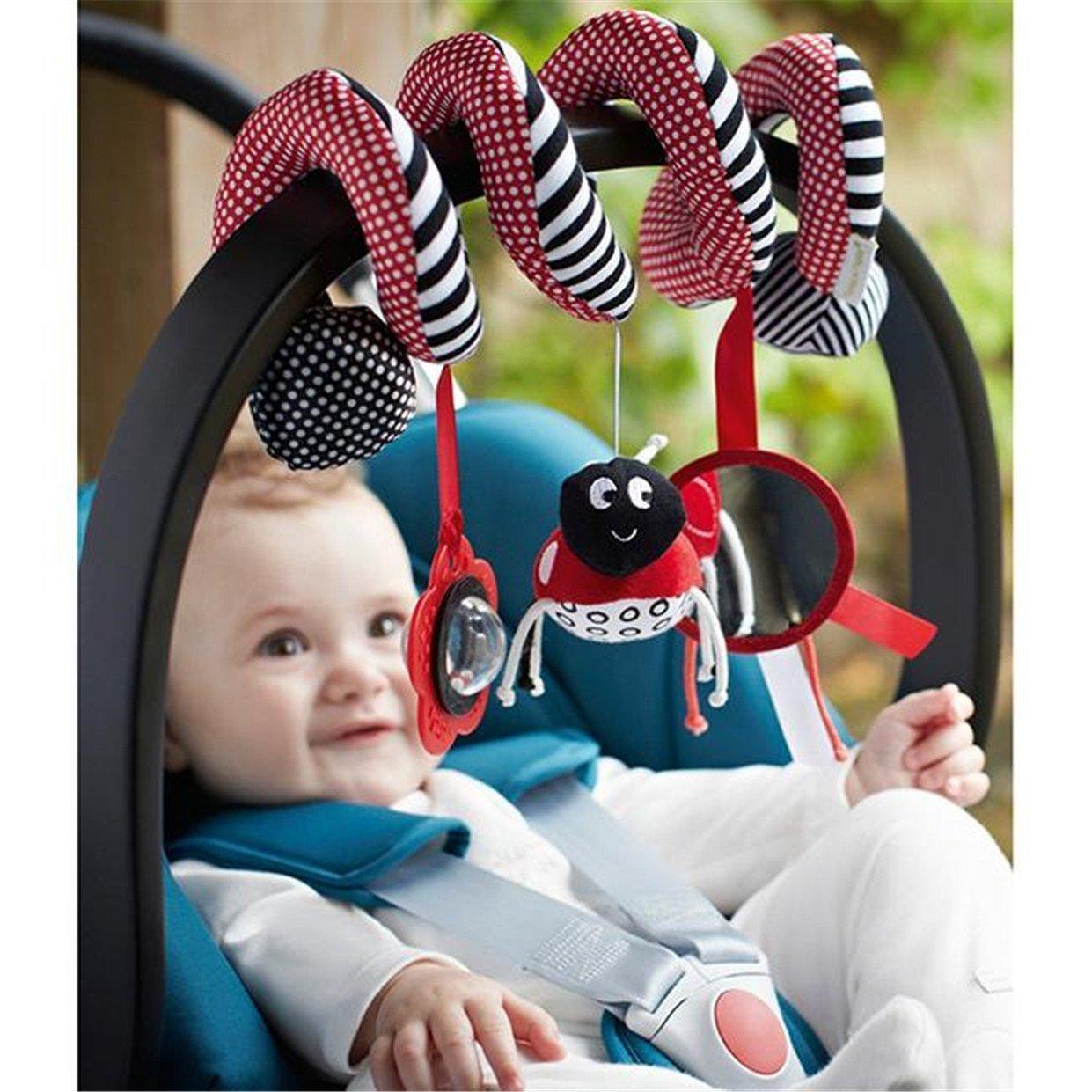 TININNA Colgar Juguetes para Bebé Infantil,Bebé de Juguetes Espiral Cama Cochecito Juguete de Kids Sonajero Toys #2: Amazon.es: Hogar