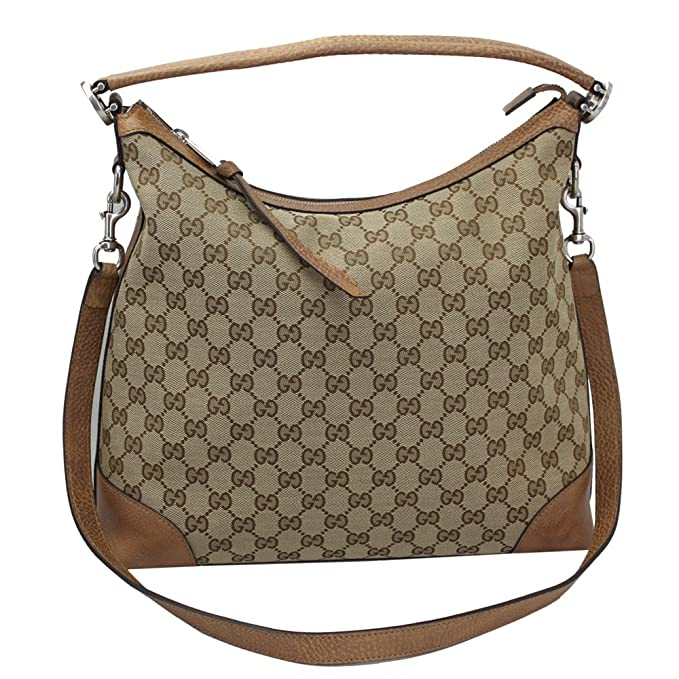 64bf0b875edc Gucci Brie Women s GG canvas Hobo Bag 326514  Amazon.ca  Clothing    Accessories