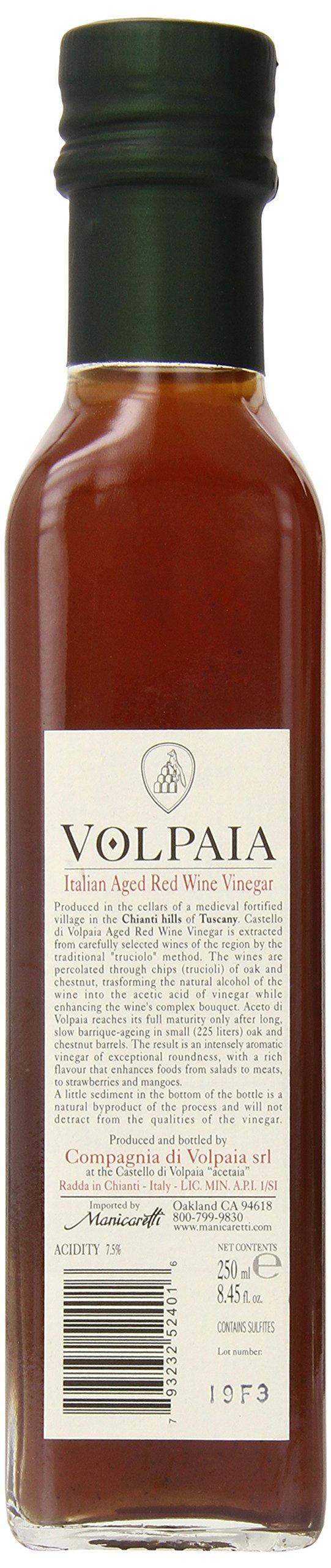 Costello Di Volpaia Tuscany Red Wine Vinegar, 8.8 Fluid Ounces by Costello Di Volpaia (Image #2)