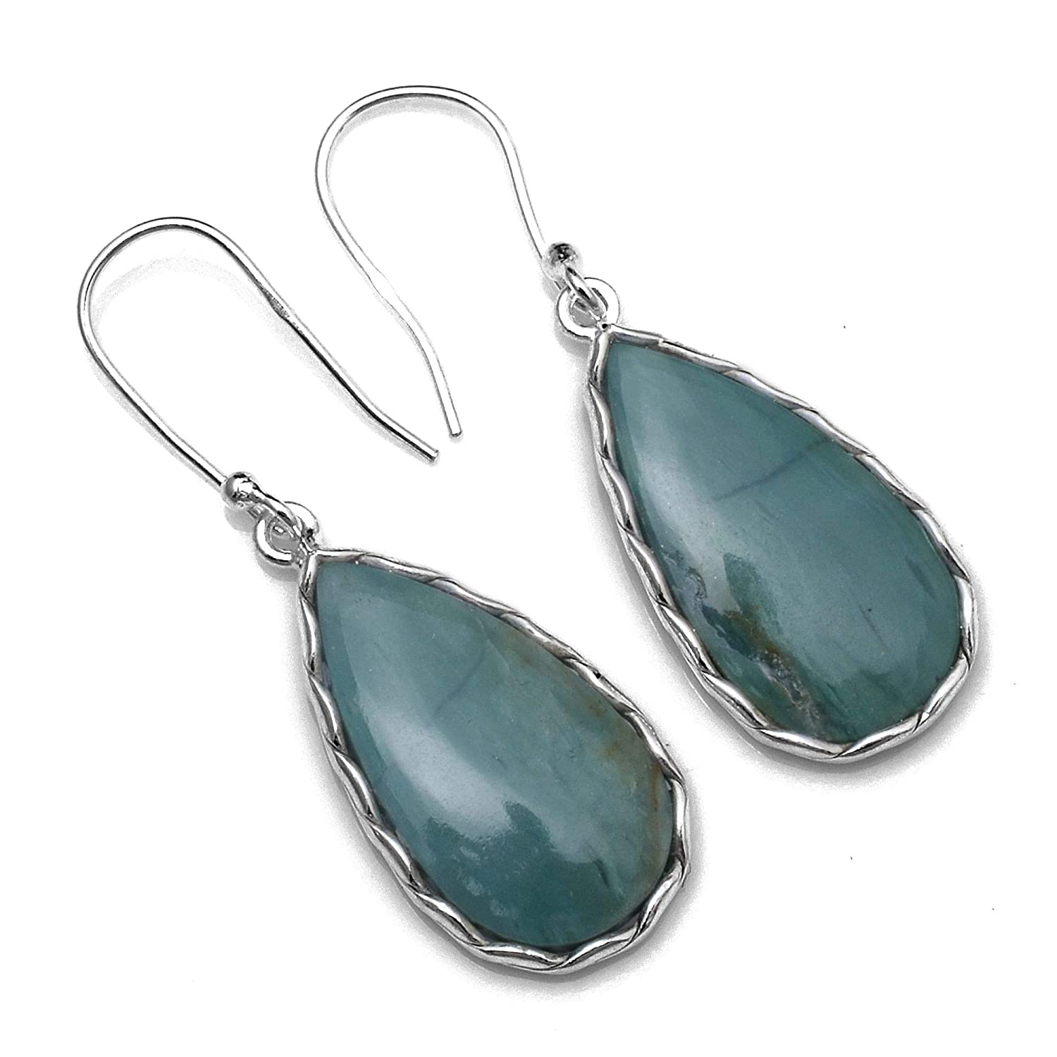 Silver Palace Sterling Silver ite Earrings for Womens and Girls