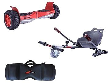 Umit Conjunto Pack Patinete electrico Hammer Rojo + Silla + ...
