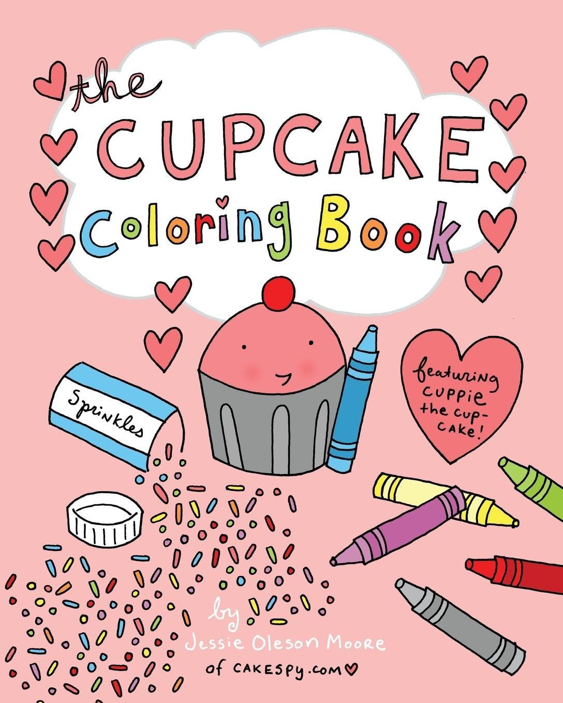 - Amazon.com: The Cupcake Coloring Book (9781389774447): Moore