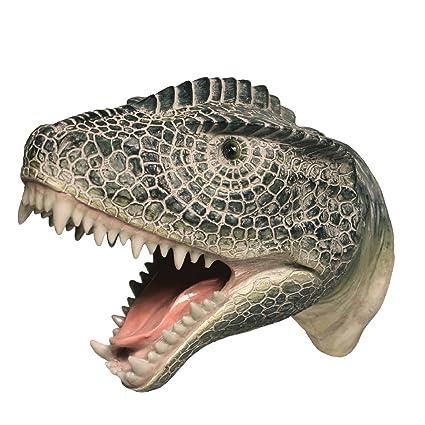 Dinosaurio T-Rex de la pared perchero ganchos niños ...