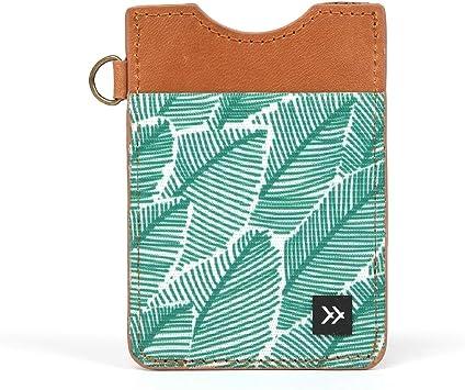 Slim Minimalist Wallet Thread Wallets Vertical Card Holder Midnight