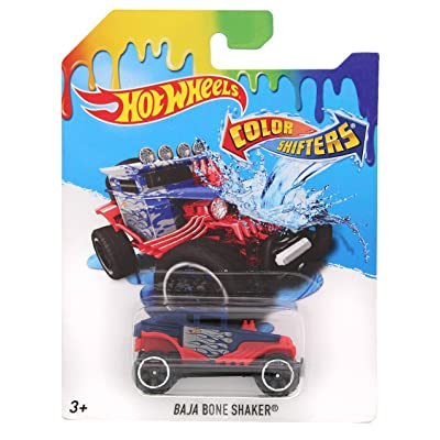 Hot Wheels 2016 Color Shifters Baja Bone Shaker Vehicle: Home & Kitchen