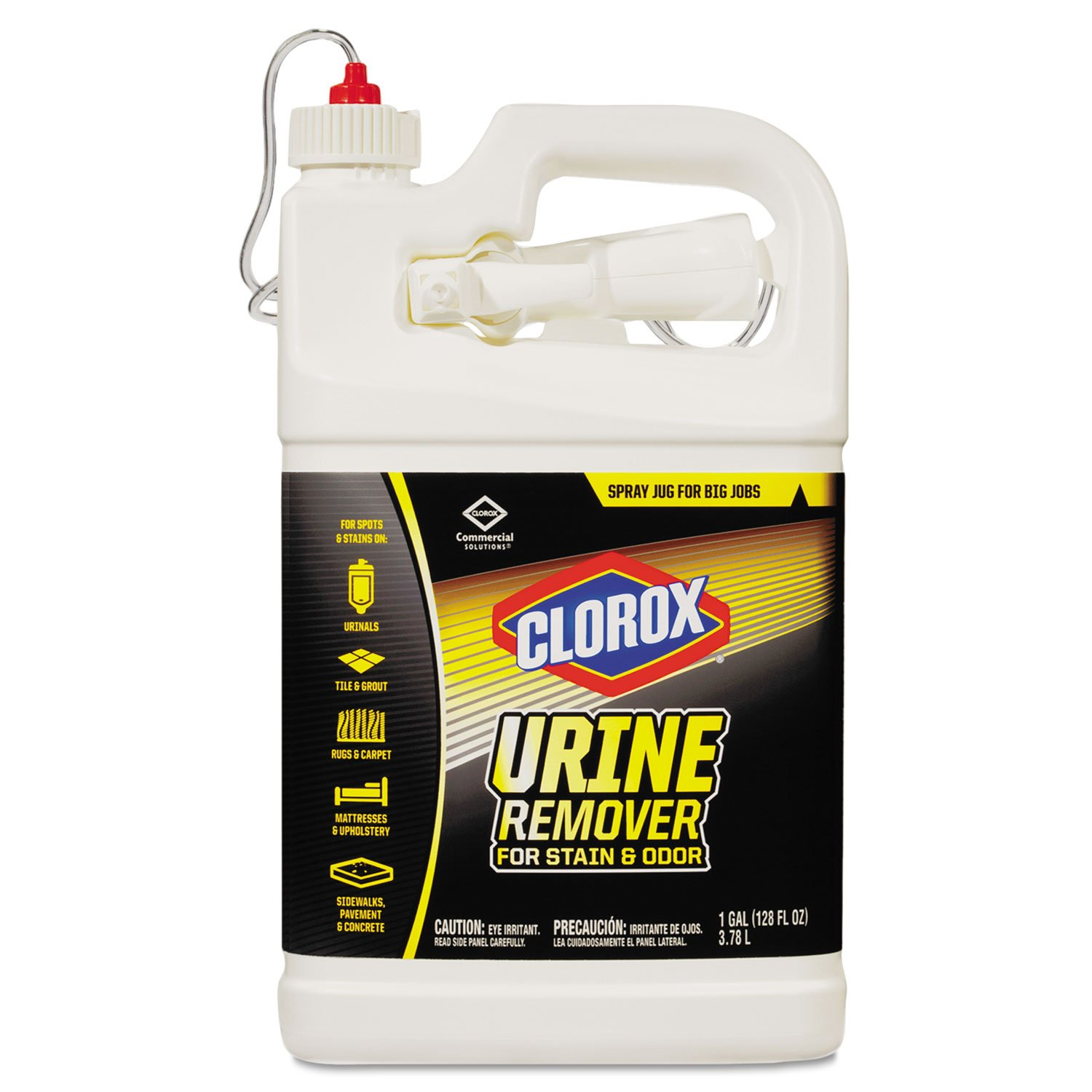 amazoncom clorox urine remover clo 31037ct bathroom cleaners office products