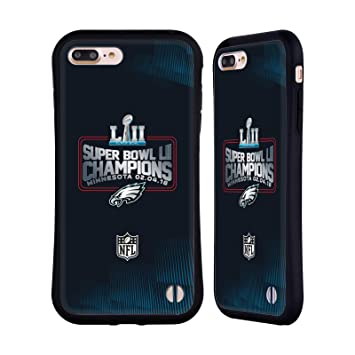 Head Case Designs Officiel NFL Philadelphia Eagles 3 2018 Super Bowl LII  Champions Étui Coque Hybride 889d95806