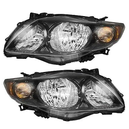 2009 toyota corolla headlight