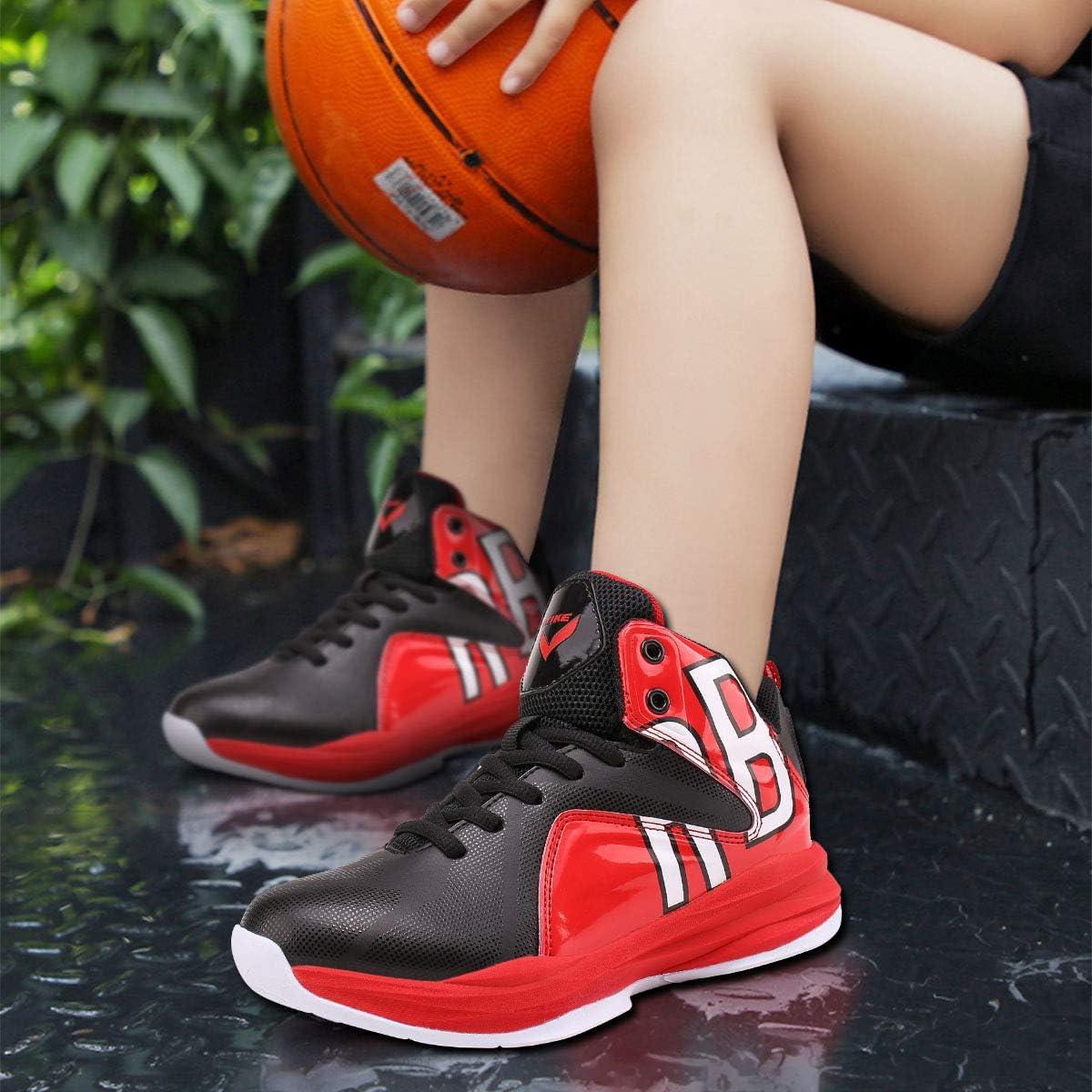 Chaussures de Sport Gar/çon Basket-Ball athl/étique Chaussures Homme Sneakers Chaussure de Course Running