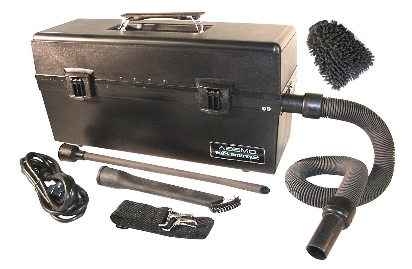 VACOMEGASLFH Atrix Omega Supreme HEPA Vacuum, 120 Volt, Clean Room Fine Particle VAC (Complete Set) w/ Bonus: Premium Microfiber Cleaner Bundle by Atrix