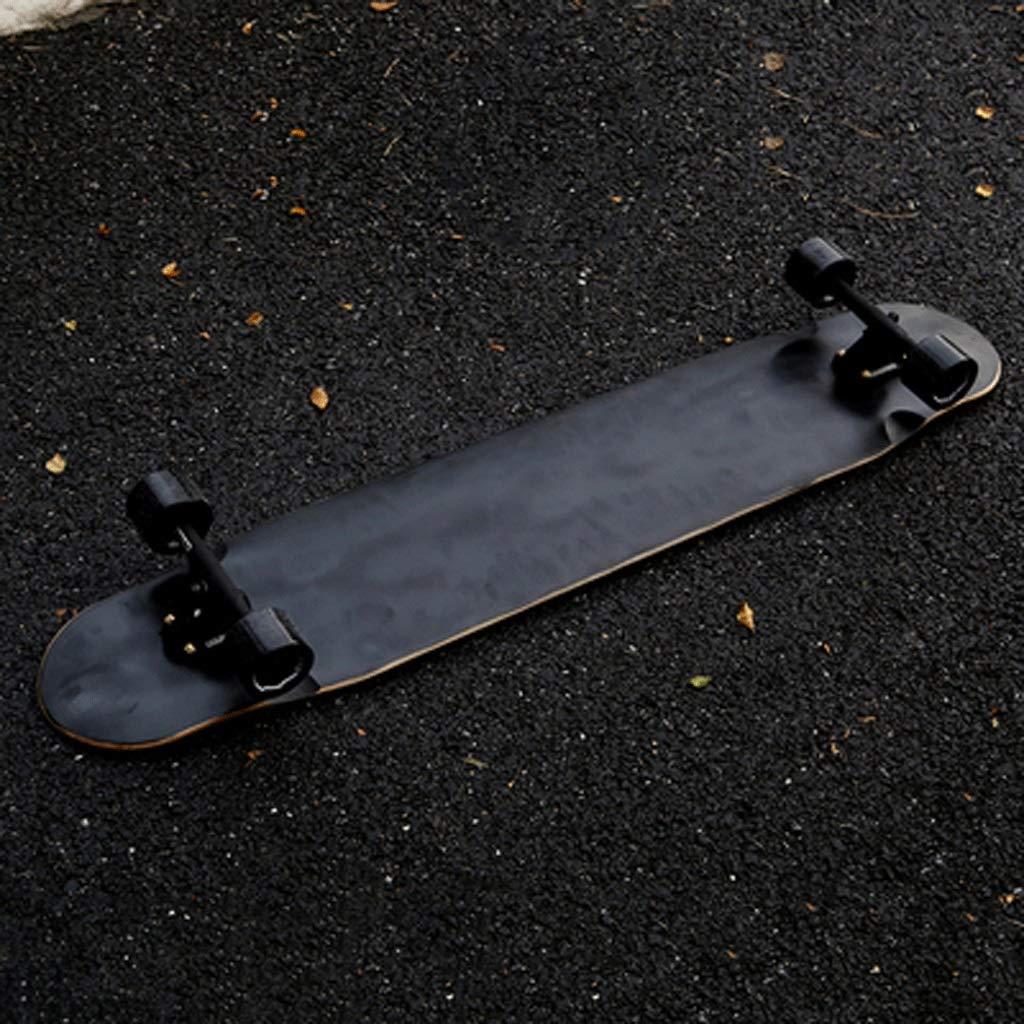 若者の大愛商品 ロングボード四輪スケートボード初心者ユーススケートボード大人の男の子と女の子ダンスボードストリートスキルスケートボード (色 : 黒) 黒) B07KS8SQT6 (色 : 黒, バウムクーヘン専門店の「よしや」:f814bbb5 --- a0267596.xsph.ru