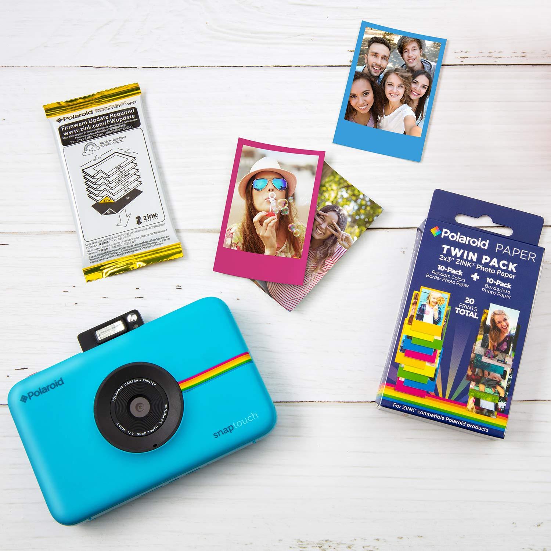 Amazon.com: Polaroid - Papel fotográfico de zinc, 2 x 3, 10 ...