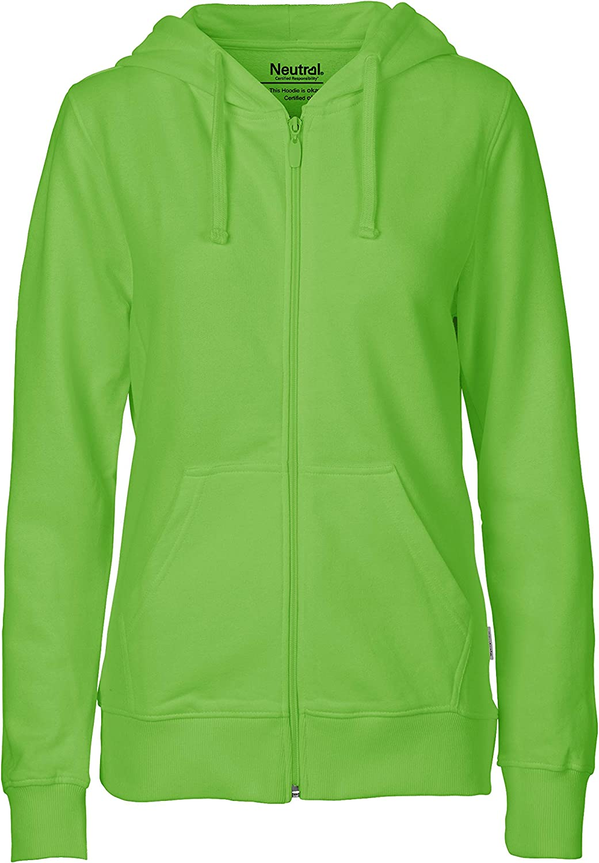 Green Cat Damen Kapuzenjacke 100/% Bio-Baumwolle Oeko-Tex und Ecolabel Zertifiziert Fairtrade