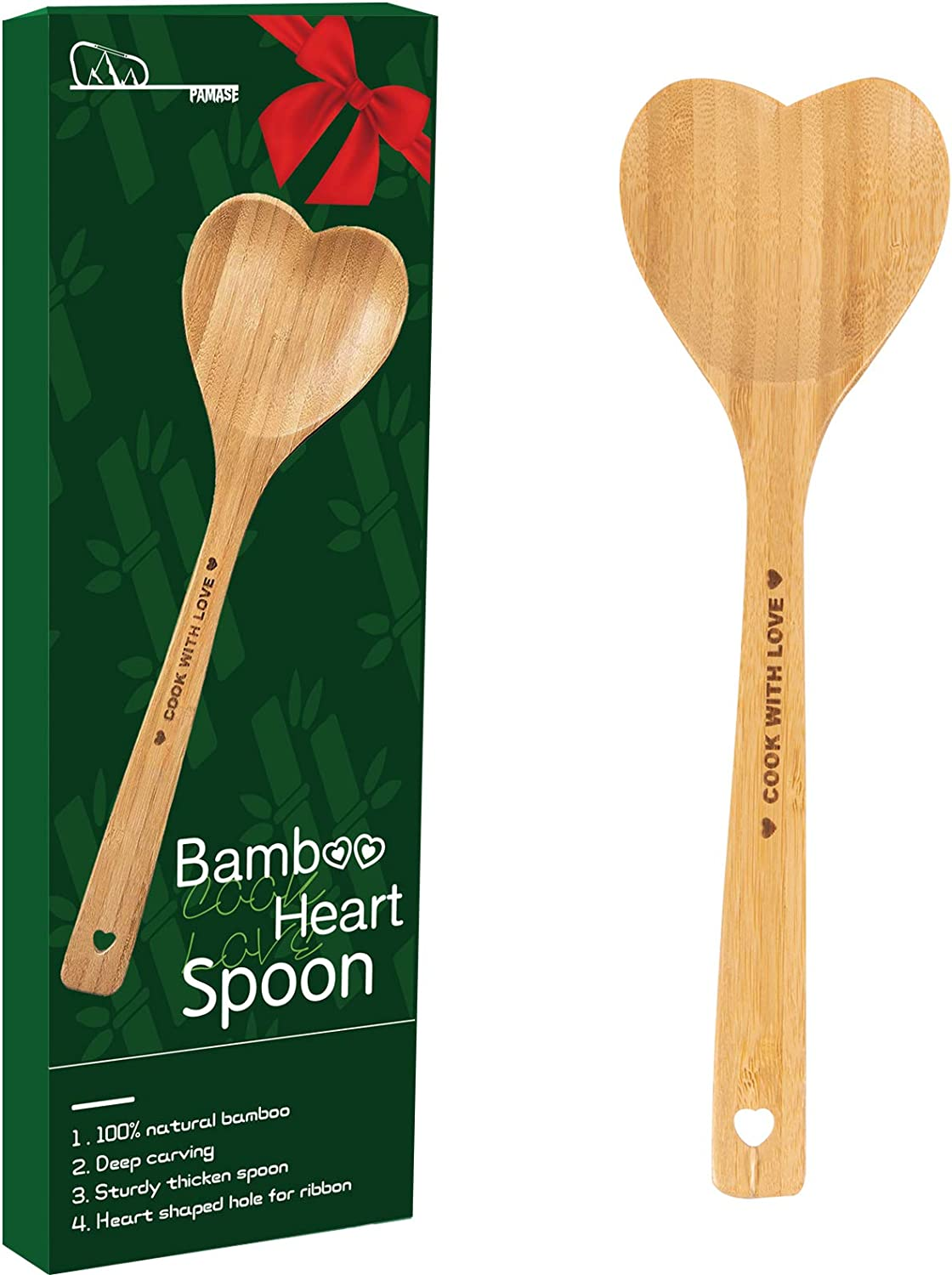 Reception decor Woodland Wedding Candy Buffet Taster Spoons 12  Love Mix Wooden Utensils With Hearts Forks,Knives Spoons