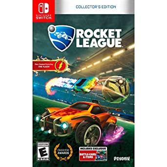 f04d9d93689 Rocket League Collector's Edition (Nintendo Switch): Amazon.co.uk: PC & Video  Games