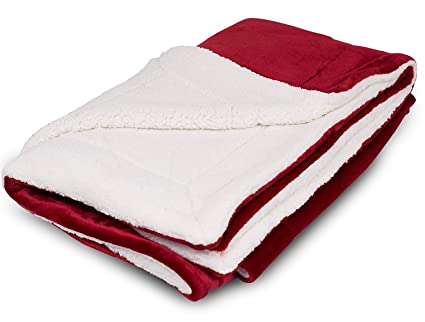 Amazon Internet's Best Plush Reversible Throw Blankets Mesmerizing Best Soft Throw Blanket