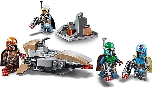LEGO Pack de Combate: Mandalorianos: Amazon.es: Juguetes ...