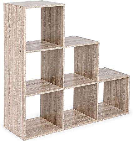 Bizzotto - Estantería para 6 estantes, Escalera: Amazon.es: Juguetes y juegos