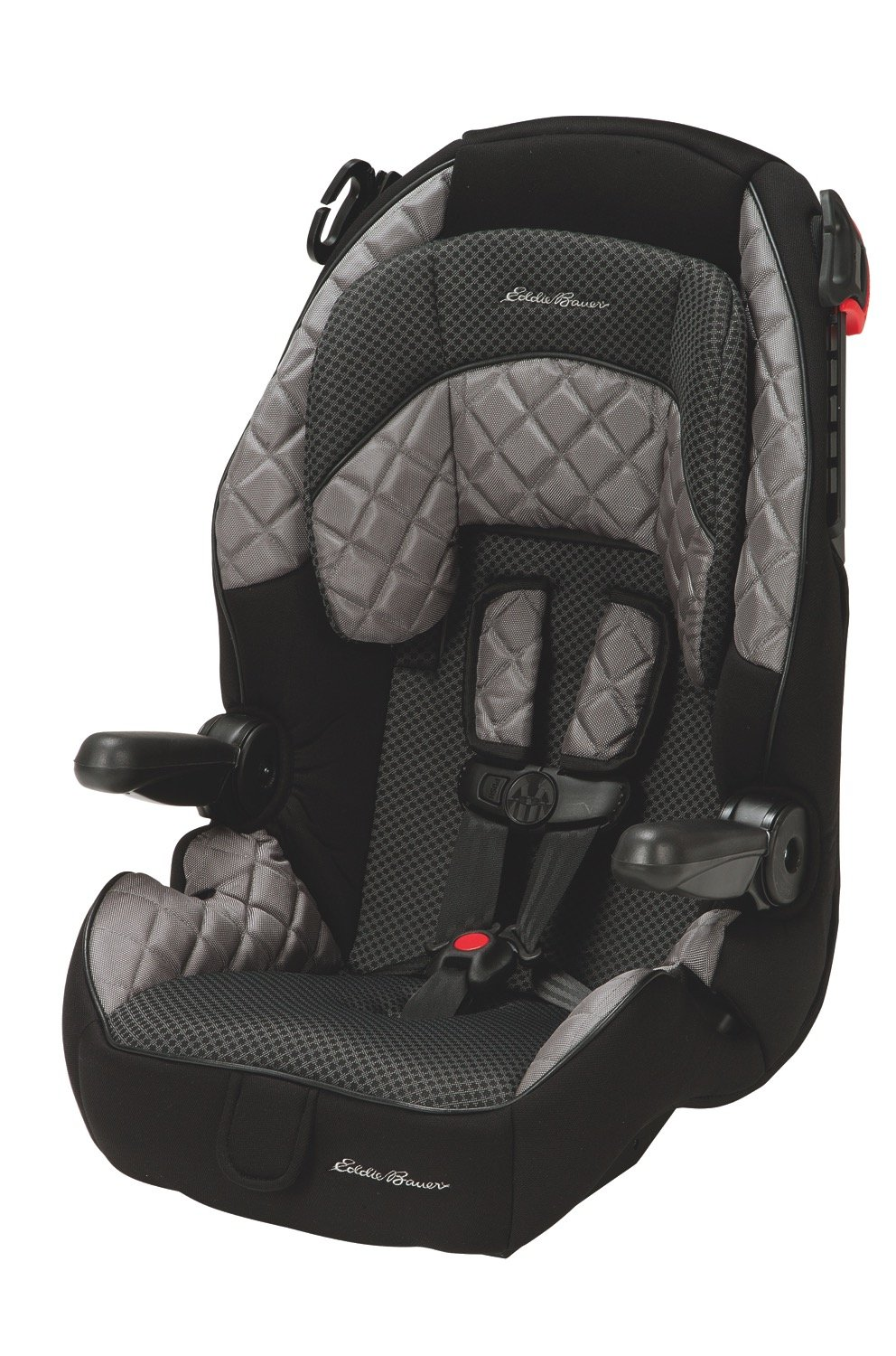 Parts for car seats likewise graco replacement parts for car - Eddie Bauer Deluxe High Back 65 Child Restraint And High Back Booster Hunnicut Grey Black Amazon Ca Baby