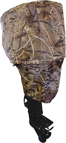 Waterproof Outboard Motor 10-45 HP Boat Engine Protective Cover Camouflage