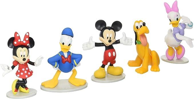Disney Just Play Juego Mickey Mouse de colección (Mickey, Minnie, Margarita, Donald, y Pluto): Amazon.es: Juguetes y juegos