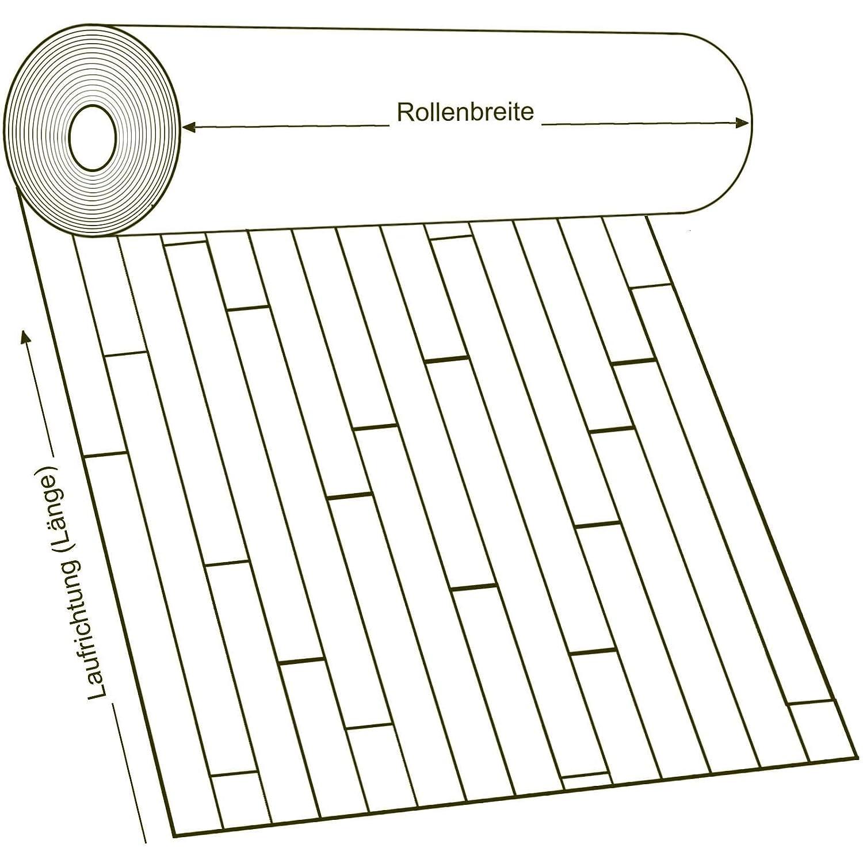 11,90 /€ p. m/² Breite: 200 cm x L/änge: 200 cm PVC Bodenbelag Rustikal Hell mit Aufdruck