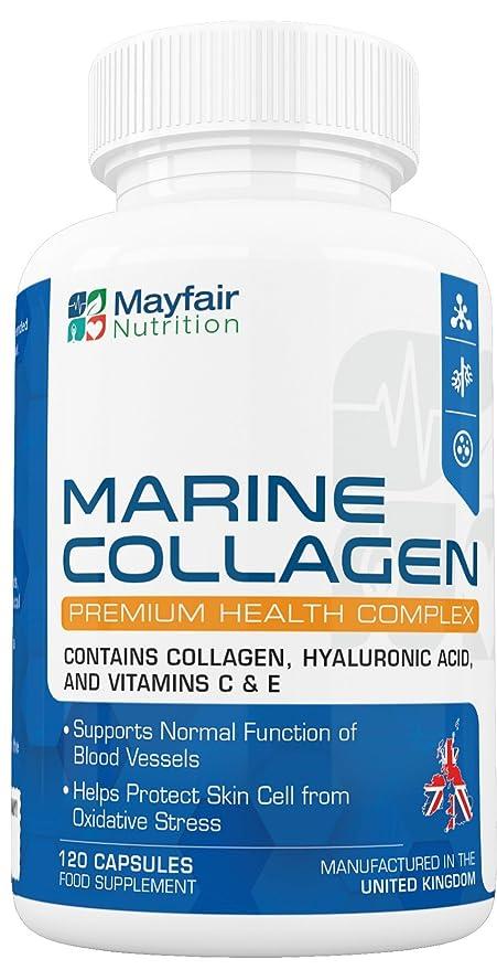Complejo de colágeno marino 700mg | 120 grageas para la salud de las células cutáneas y