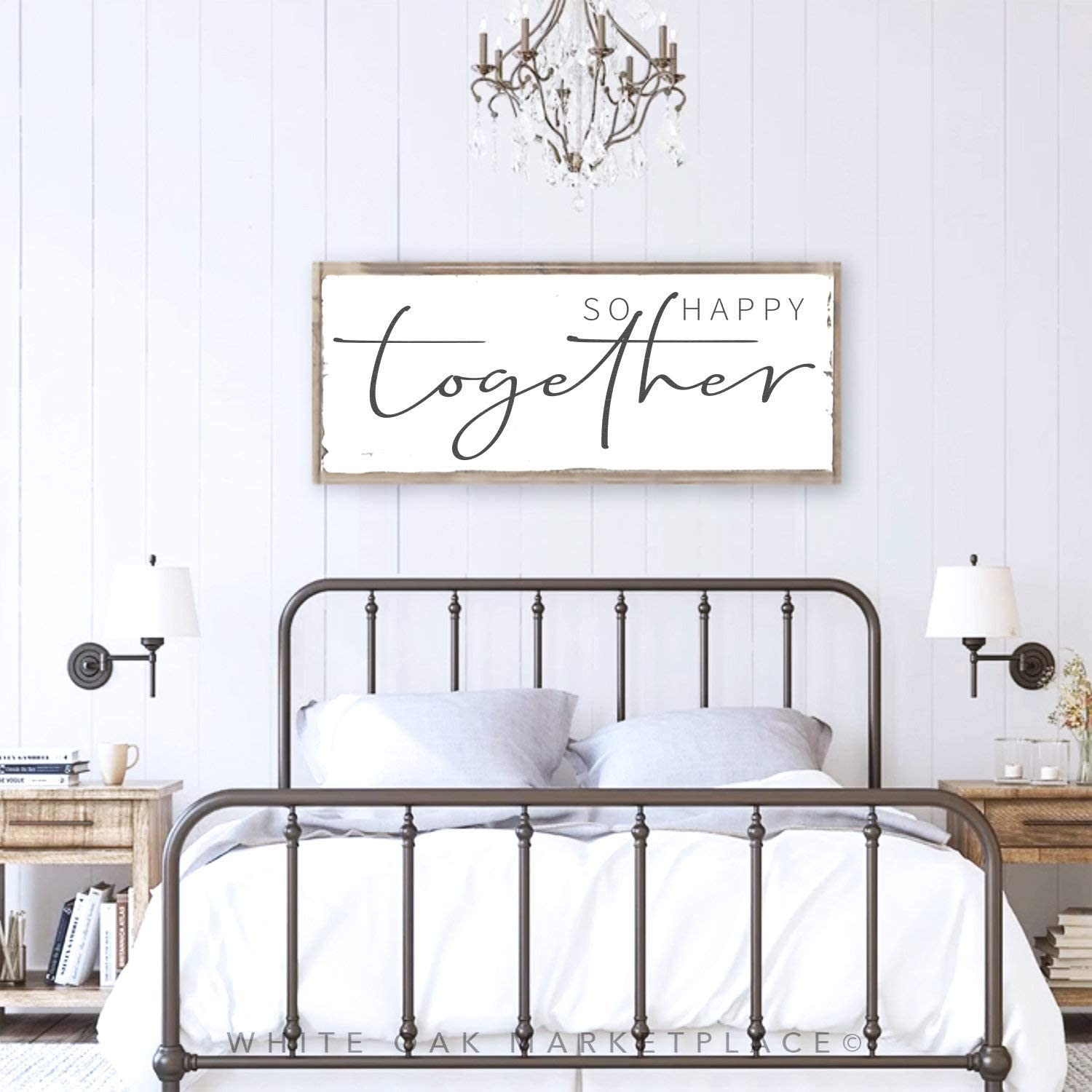 So Happy Together Above Bed Decor Master Bedroom Decor Above Bed Signs Bedroom Decor Bedroom Signs Bedroom Wall Art Above Bed Amazon Ca Baby