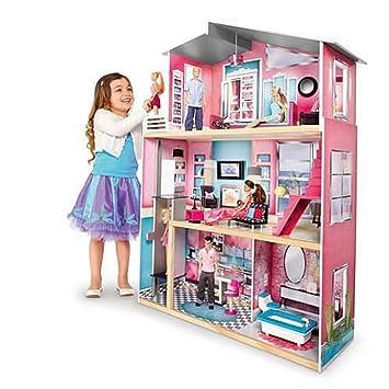 Amazon Com Toys R Us Imaginarium Modern Luxury Dollhouse Toys Games