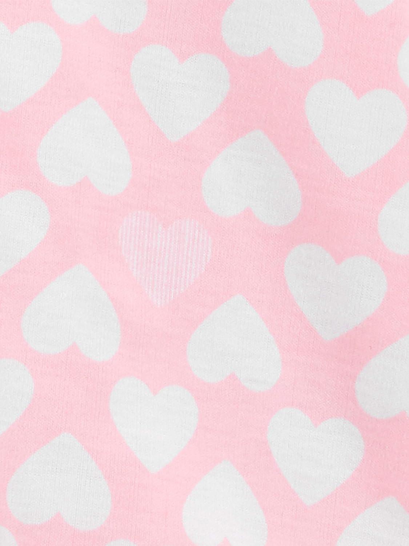 6-9M Simple Joys By Carter/'s Girl/'s 3 Pk Sleepbag Pink//Floral//Mint Elephants