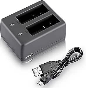 Neewer NW4000 USB Dual Battery Charger for SJCam SJ4000 SJ5000 SJ6000 SJ7000 Action Camera