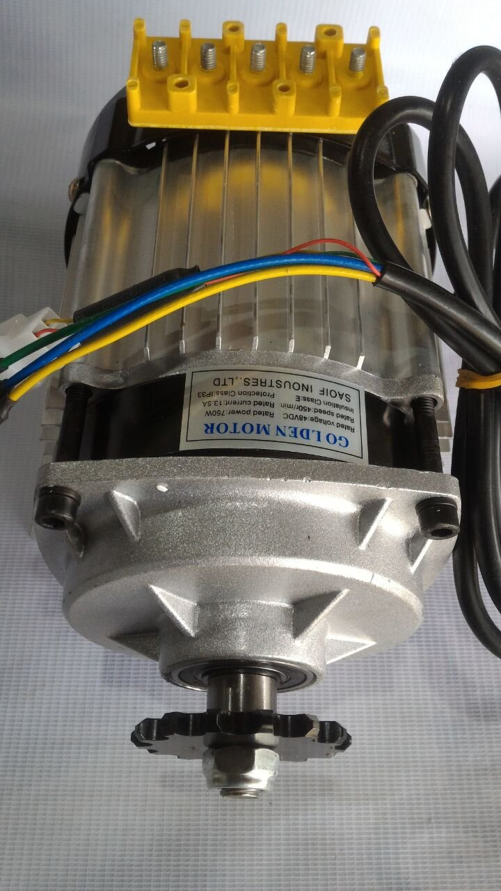 Bldc Motor With Controller Wiring Kit 48v 750watt For Effi Cycle Connection Diagram In Addition Electric Bike Projects Car Motorbike
