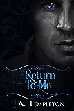 Return to Me: Vampire Regency Historical Romance