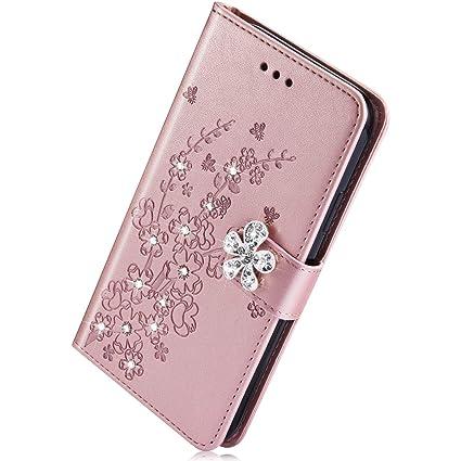 Herbests compatible con Samsung Galaxy S10 Estuche, Funda Cuero PU ...