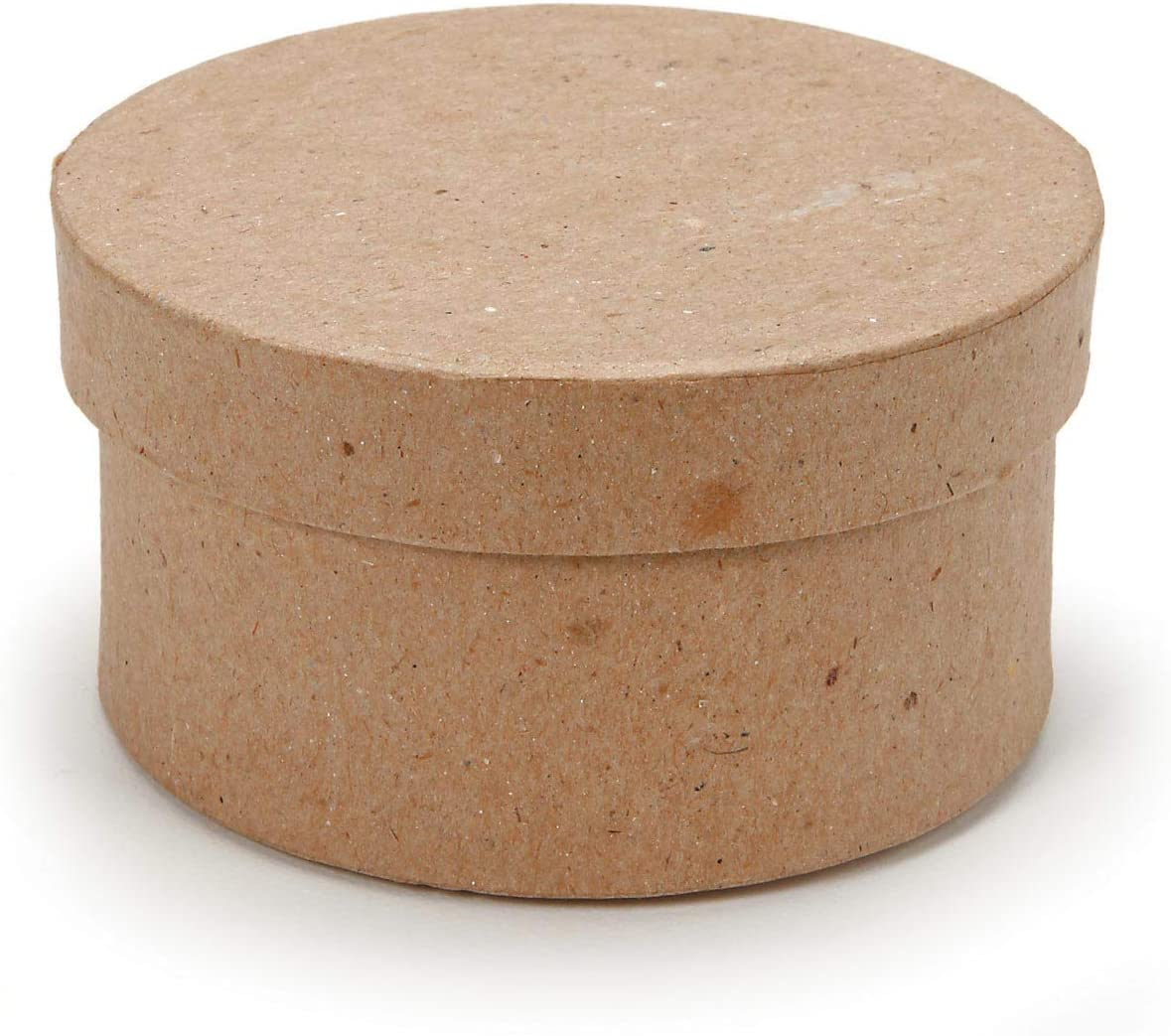 Darice Paper Mache Round Box Set 8 Inches 9 Inches and 10 Inches 2 Pack