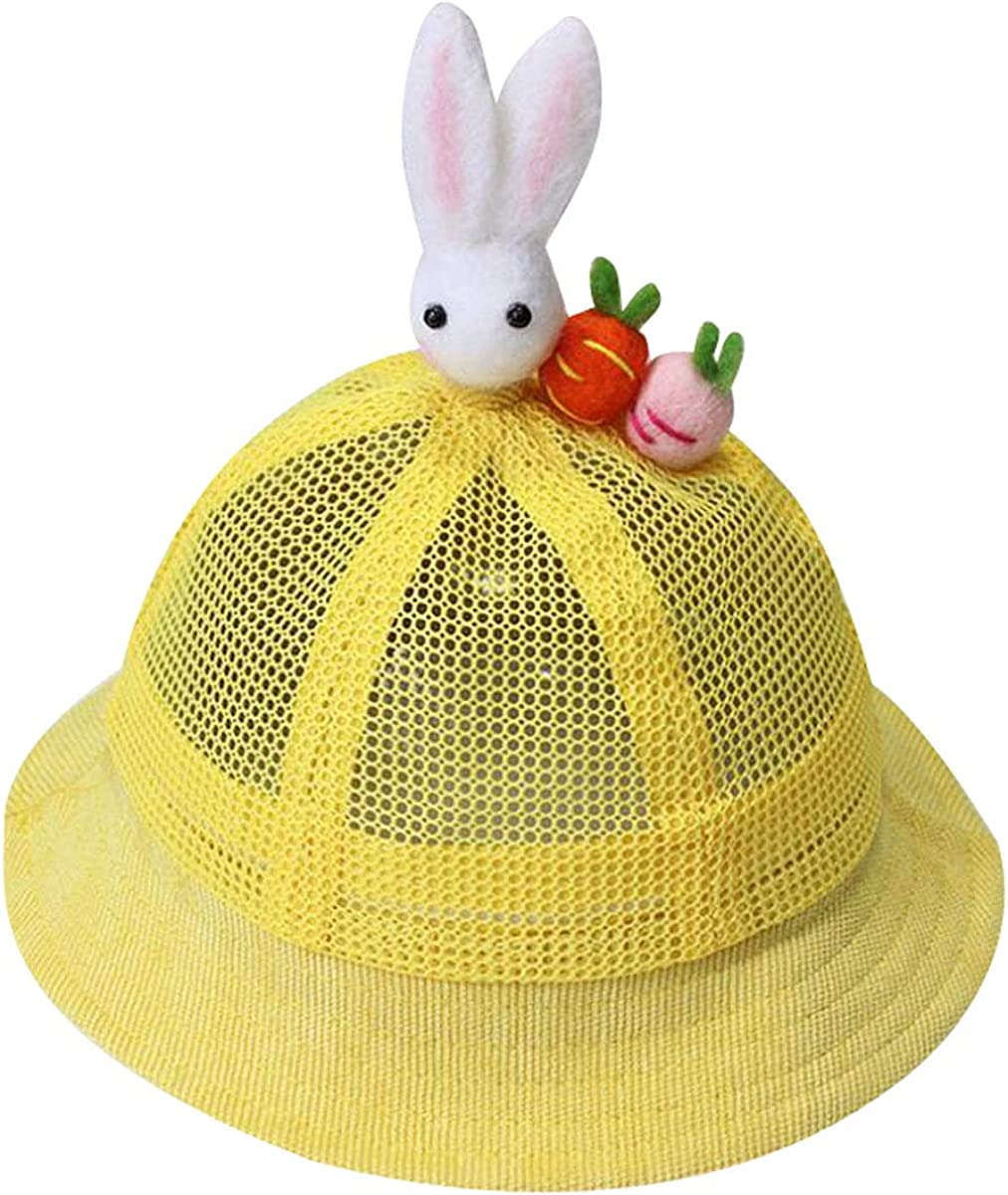 ACVIP Toddler Little Girls Animal Shaped Breathable Bucket Hat