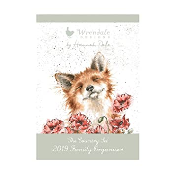 Wrendale A3 Family Calendar 2019 - The Country Set: Amazon