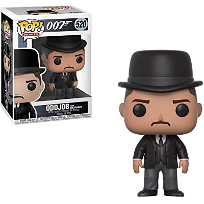 Funko Pop! Movies: James Bond Oddjob Collectible Figure: Funko Pop! Movies:: Toys & Games