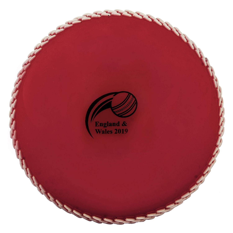 3-teilig gr/ün mit wei/ßer Naht Farbe: 3-teilig rot mit wei/ßer Naht 6er Pack Sport /& Freizeit Kosma World Cup England /& Wales 2019 Windball-/Übungs-Cricketball Weiche Trainingsb/älle