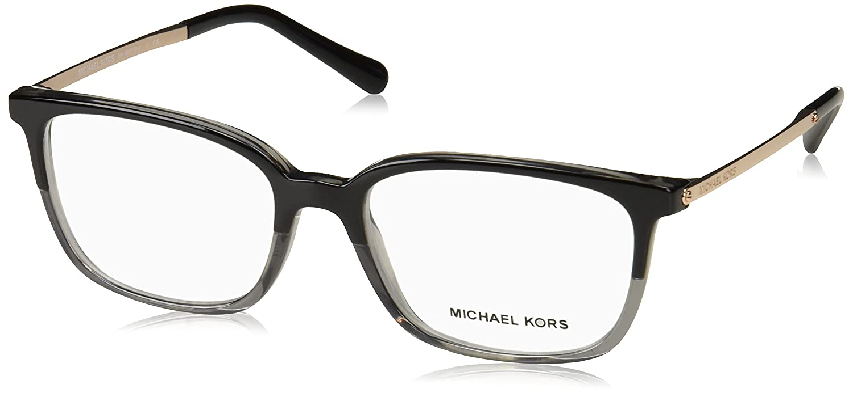 925a776b38 Eyeglasses Michael Kors MK 4047 3280 BLACK/TRANSPARENT GREY at Amazon Men's  Clothing store: