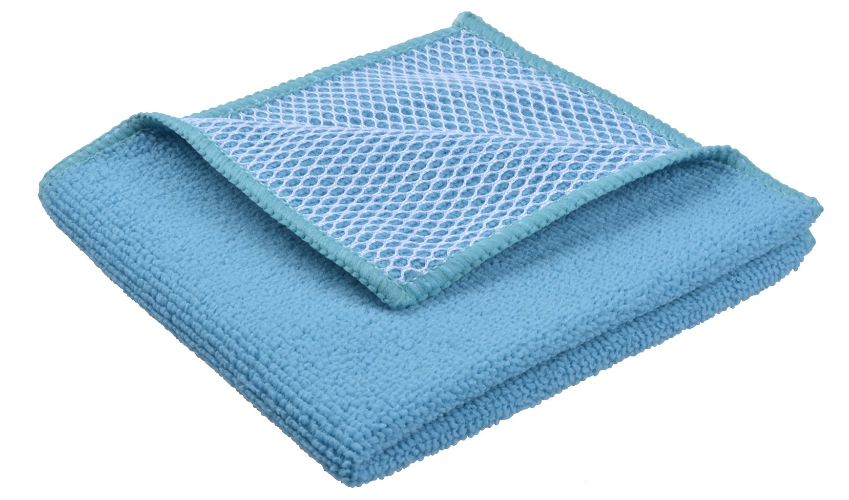 f6a4c9a66a376 Sinland 5 color assorted Microfiber Dish Cloth Best Kitchen Cloths Cleaning  Cloths With Poly Scour Side 12