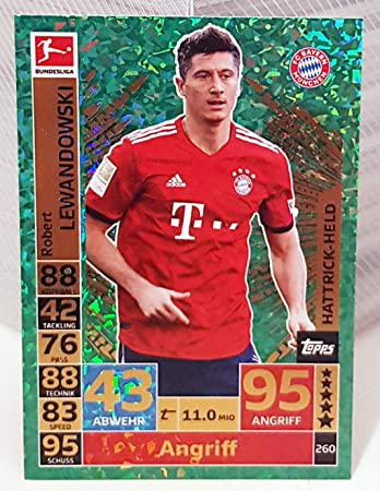 Bundesliga Match Attax 2018 19 Robert Lewandowski
