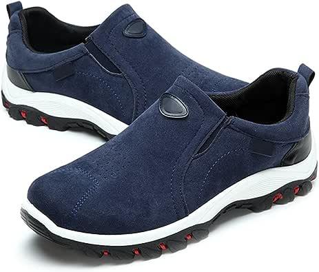 Zapatillas de Entrenamiento para Hombre, Gracosy Invierno Zapatos para Correr en Montaña y Asfalto Aire Libre y Deportes Zapatillas Deportiva de Piel Casual Slip On Zapatillas de casa: Amazon.es: Zapatos y complementos