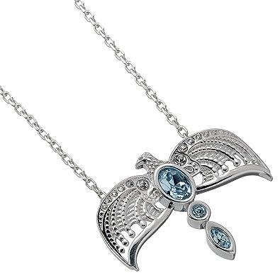 bfb2d4ede HARRY POTTER Sterling Silver Diadem Necklace Embellished Swarovski® Crystals:  Amazon.co.uk: Jewellery