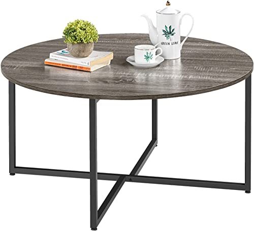 Yaheetech Round Coffee Table,35.5