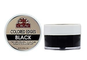 OKAY COLORED EDGES BLACK .5oz / 15mlOKAY-EDGEBLK1