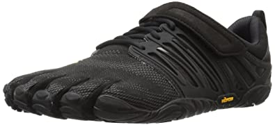 Vibram FiveFingers V-Train, Chaussures de Fitness Homme, Gris (Grey/Black/Red), 45 EU