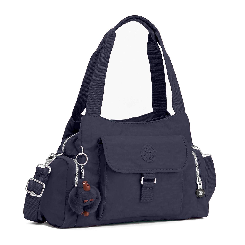 Kipling Felix stor handväska True Blue