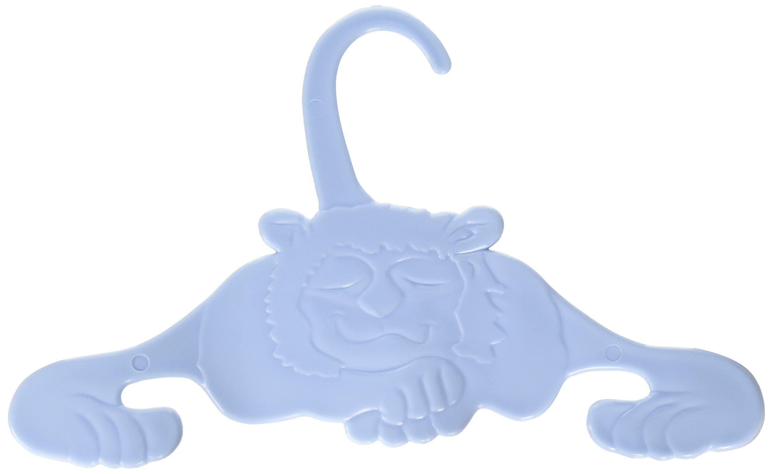 Baby Animal Hangers, 4-Pack, Blue